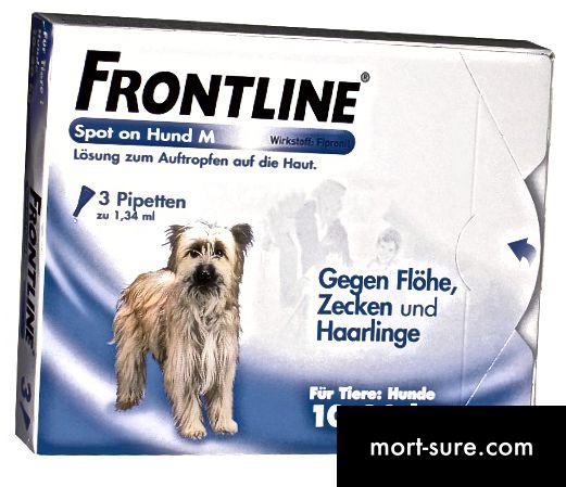 Atšķirība starp Frontline un Frontline Plus