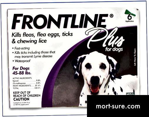 Atšķirība starp Frontline un Frontline Plus-1