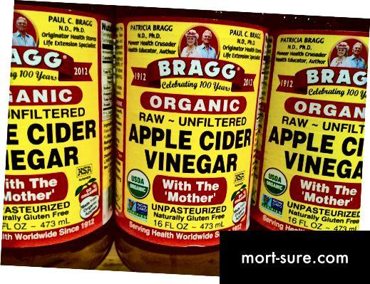 الفرق بين خل التفاح وخل التفاح