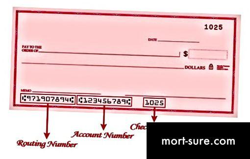 एबीए संख्या और संदर्भ संख्या के बीच अंतर