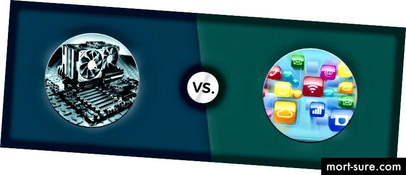 Atšķirība starp aparatūras un programmatūras izstrādi