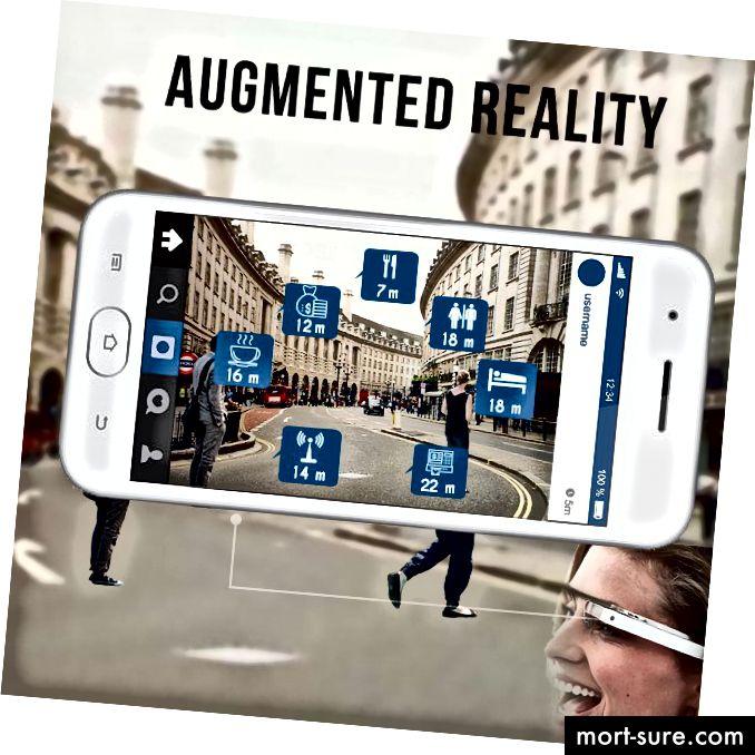 Augmented Reality forrit eru að aukast
