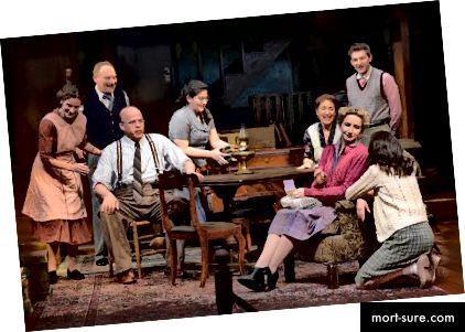 Anos Frankos dienoraščio aktoriai (Nuotrauka: Mellophoto.com)
