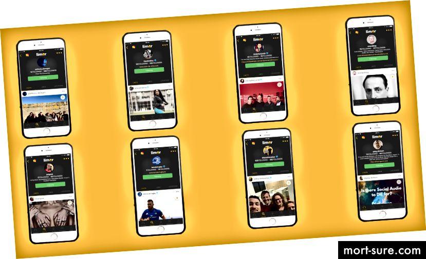Někteří uživatelé na Limoru, kteří v současné době stále více sledují nahrávání a interakci s aplikací