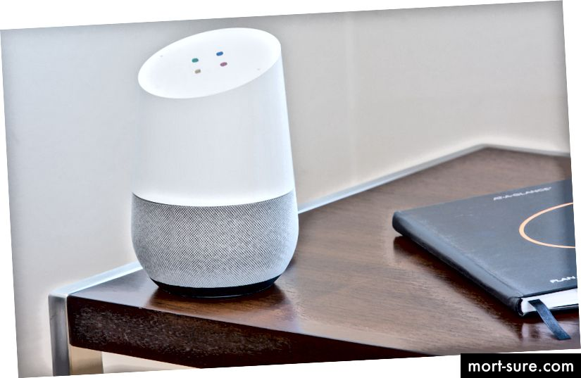 Google yordamchisi bilan Google Home
