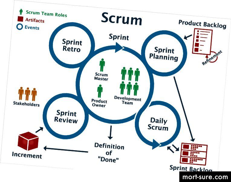 Agile / Scrum: Rollar, jarayonlar, artefaktlar