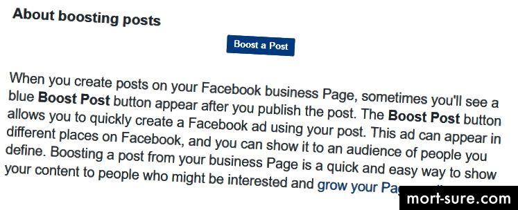 Facebooki ettevõte, reklaamija abikeskus