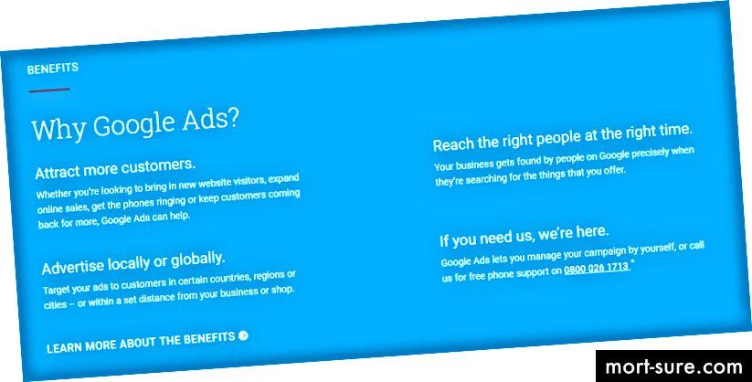 Miks peaksite Google'i sõnul Google'i reklaame kasutama?