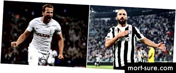 Streigijad - Tottenhami Kane vs Juve's Higuain