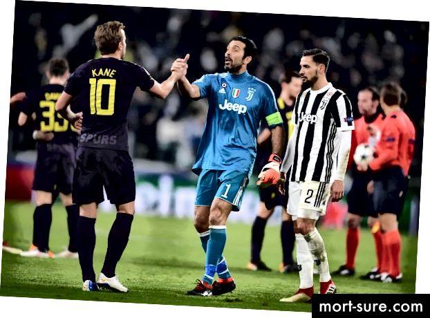 Kane ja Buffon, et minna sellele uuesti Wembley juurde