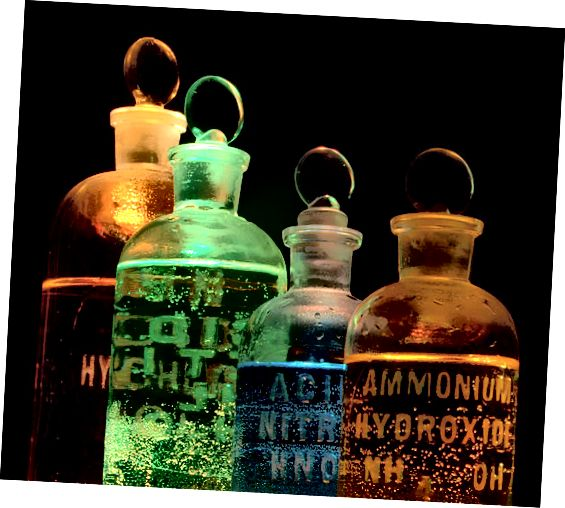 Ënnerscheed tëscht Alchemie a Chimie - Modern Chimie