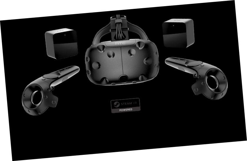 الفرق بين Oculus Rift و HTC Vive