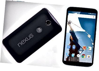 Atšķirība starp Google Nexus 6 un Samsung Galaxy Note 4 - Nexus 6 attēlu