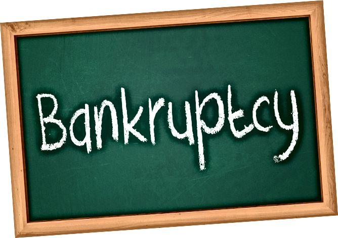 Διαφορά μεταξύ πτώχευσης και σταθεροποίησης χρέους