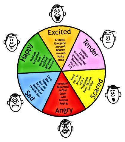 Ключова разлика - настроение срещу емоция