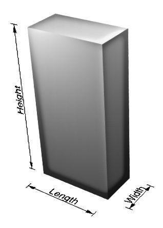 Starpība starp augstumu un garumu