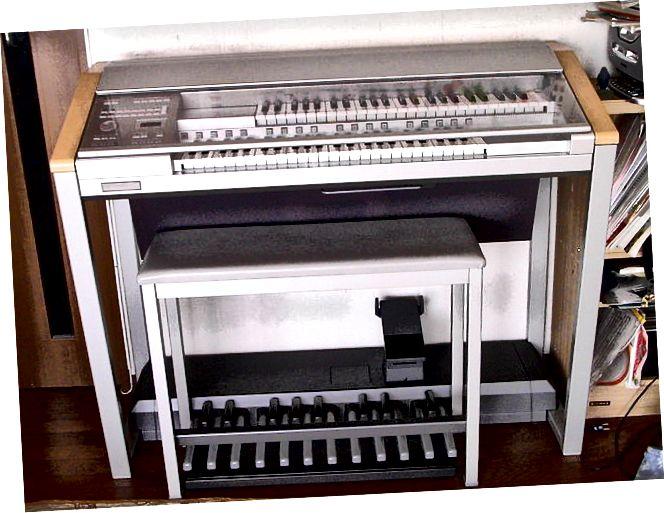 Разлика между органа и пианото