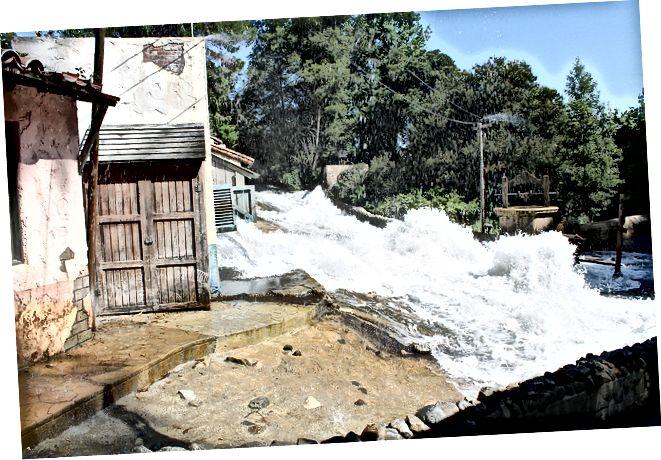 فلاش فيضان | الفرق بين الفيضان والفيضان فلاش