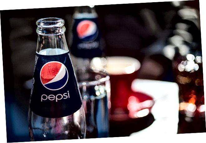 Erinevus Pepsi ja Pepsi Maxi vahel