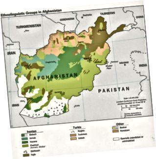 Skillnaden mellan Afghanistan och Pakistan