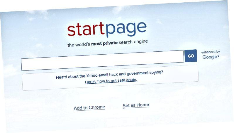Atšķirība starp Ixquick Duckduckgo un Startpage - 3