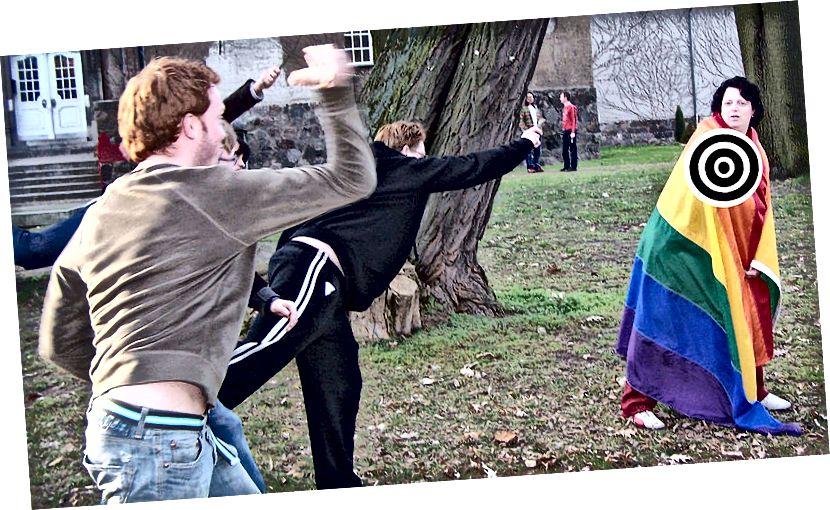 Ключова разлика - хомофобия срещу хетеросексизъм