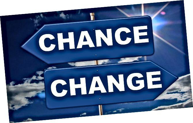 ключова разлика - промяна срещу иновации