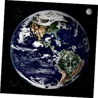 Maa ja Marsi erinevus