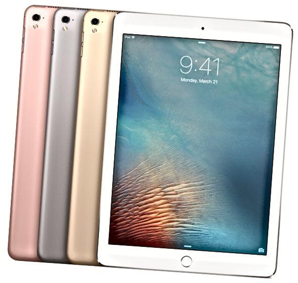 9.7 इंच और 12.9 इंच iPad प्रो के बीच अंतर