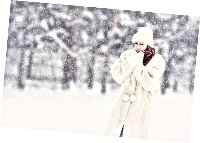 Atšķirība starp vēsu un aukstu