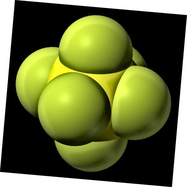 Asosiy farq - Oltingugurt geksafloridi va Disulfur Tetrafluorid