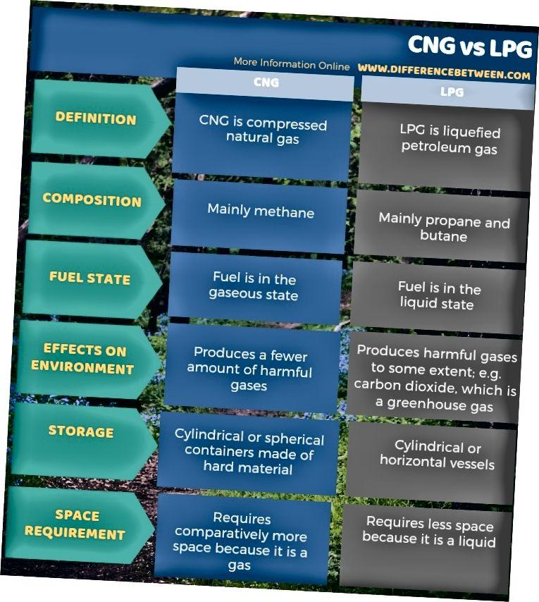 Atšķirība starp SDG un SNG tabulas veidā