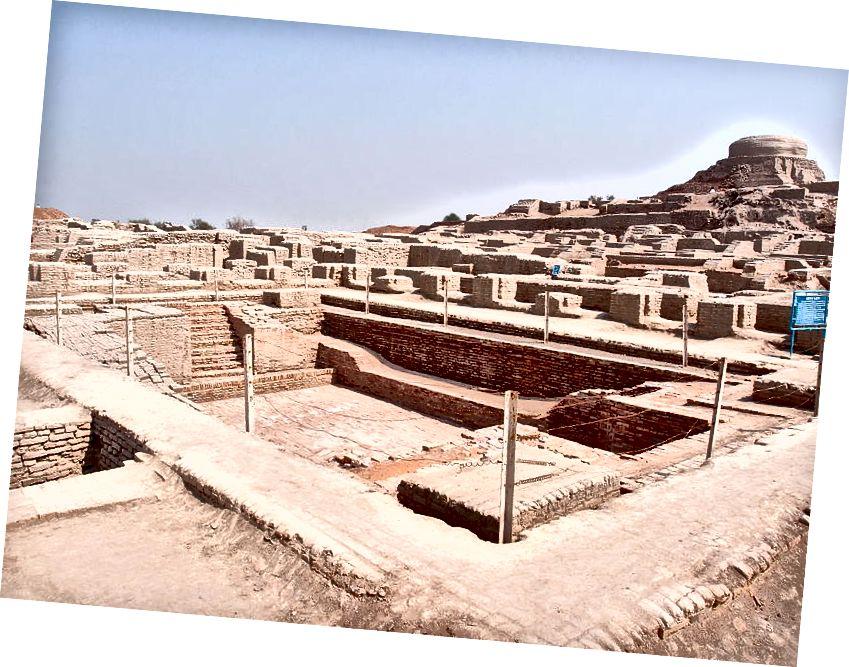 Galvenā atšķirība - Harappa vs Mohenjo-daro
