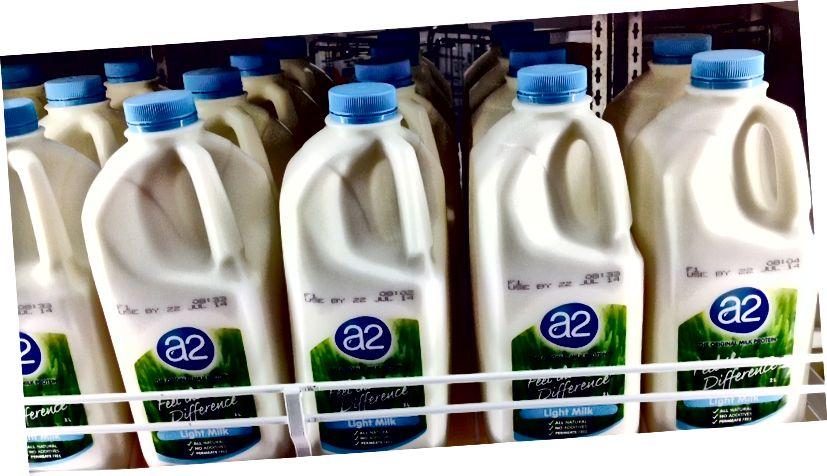 Ключевая разница - пастеризованное и непастеризованное молоко