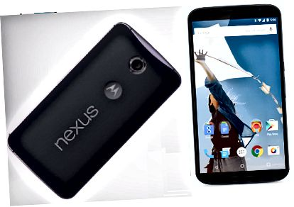Erinevus Google Nexus 6 ja Apple iPhone 6 Plus vahel - Nexus 6 Image