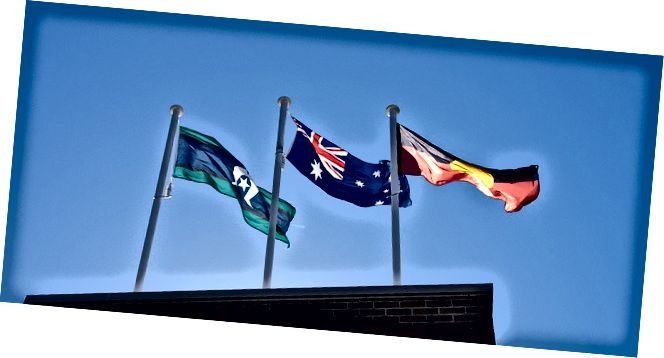 Διαφορά μεταξύ Αυστραλίας Σημαίες