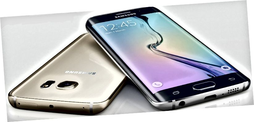 الفرق بين Samsung Galaxy S6 Edge و S6 Edge Plus