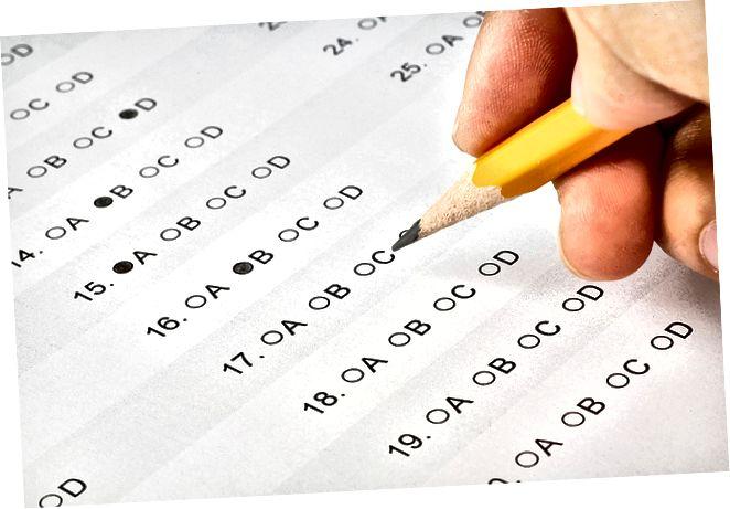 Ënnerscheed tëscht ACT an SAT