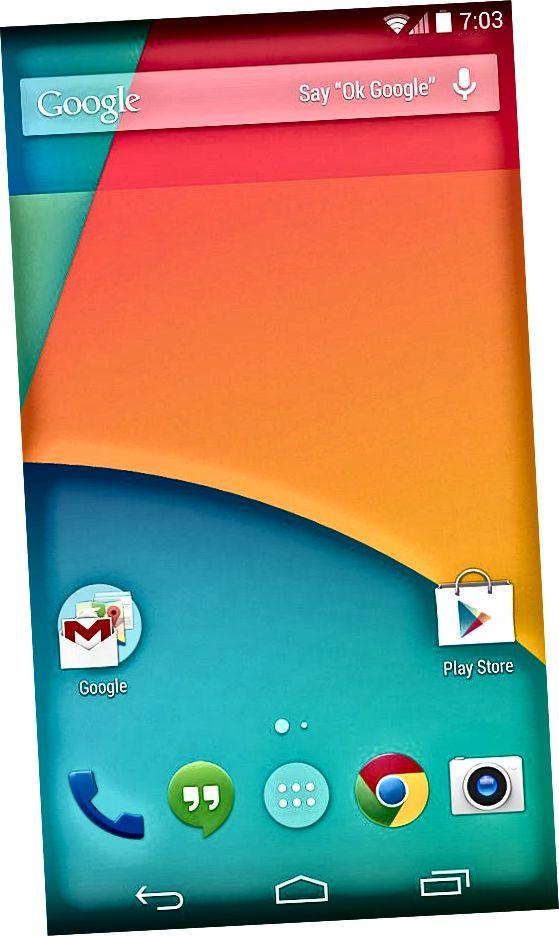 Разлика между Android KitKat и Android Lollipop