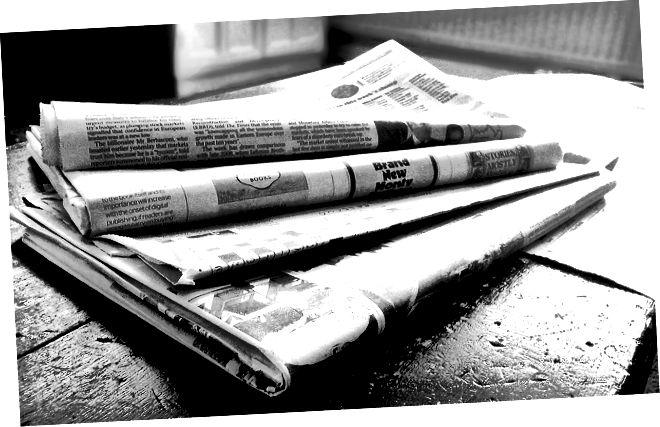 الفرق بين الأخبار على الإنترنت والصحف