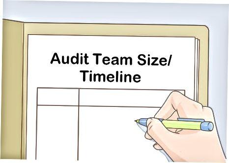 Auditni rejalashtirish