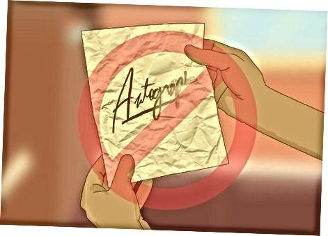 Autogrammi kinnitamine