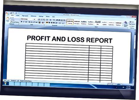 Генерисање финансијских извештаја