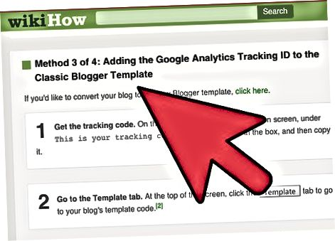 Bloglar blogiga Google Analytics Tracking ID-ni qo'shish