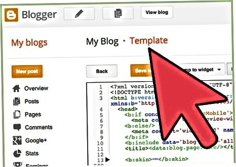 Google Analytics Tracking ID-ni klassik Blogger shabloniga qo'shish