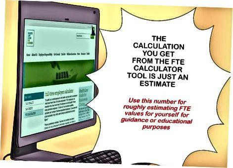 Používanie online kalkulačiek FTE