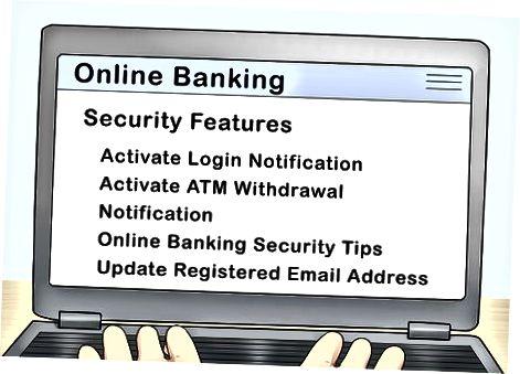 Побољшање безбедности на мрежи као банкарског представника