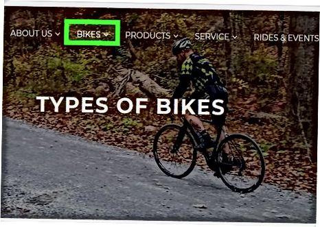 Sizga kerak bo'lgan velosiped turini aniqlash