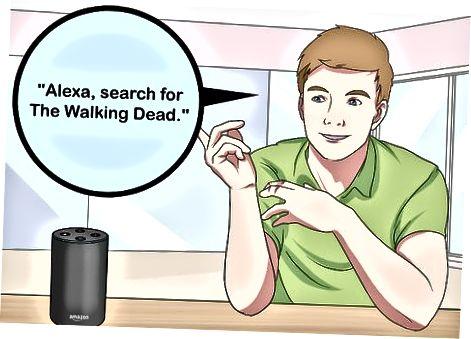 Fire TV uchun Alexa ovozli buyruqlaridan foydalanish