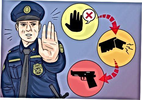 Gumonlanuvchini politsiya xodimi sifatida hibsga olish
